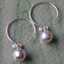 Thai Ball Fine Silver Earring Karen Hill tribe