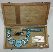 Fowler 52-246-075 Blade Micrometer, Metric 50-75mm