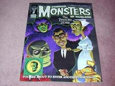 FAMOUS MONSTERS # 259, STICKER version: Twilight Zone cover, RARE!