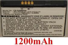 Batterie 1200mAh type 010-11212-14 361-00039-01 Pour Garmin Nuvi 295W