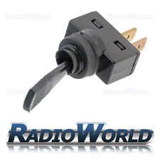 Black (ON) - OFF Momentary Duckbill Toggle Switch SPST Car Dash Light 12V 20A