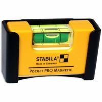 Stabila Pro Pocket Electricians Magnetic Spirit Level Belt Clip Holder Fuse Box