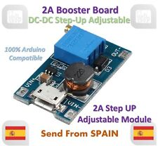 2A Booster DC-DC Step-up 2/24V to 5/9/12/28V Micro USB MT3608 Replace XL6009