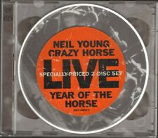 NEIL YOUNG Year of the Horse 2 CD 12 track LIVE 1997 Neil Young CRAZY HORSE