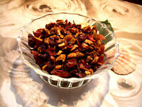 Cranberry Apple Tisane Tea Blend Rose Hips Hibiscus Flowers 4 oz. 120 Grams