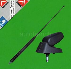 GENUINE Peugeot Short Sports Style Aerial Base + Mast 205 GTi 306 GTi 309 GTi
