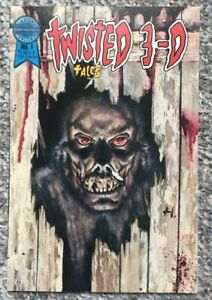 Twisted 3-D Tales #1 Blackthorne Inc. Publishing 1986
