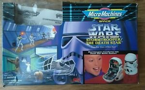 Star Wars Micro Machines Stormtrooper Death Star Transforming Playset Complete