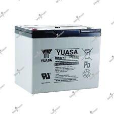 Batterie fauteuil roulant cyclique rechargeable YUASA REC80-12 12V 80AH