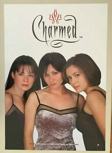 CHARMED,TV SERIES, AUTHENTIC 1999 POSTER