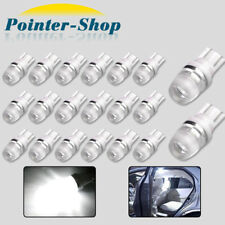 20x 6000K White 1W 2323 T10 Wedge LED Car Lights Bulb Lamp 192 168 194 12V US