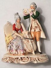 ANTIQUE PORZELLANFABRIK CARL SCHNEIDER 1859 GERMANY PORCELAIN FIGURINE COLONIAL