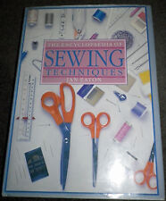The Encyclopaedia Of Sewing Techniques by Jan Eaton Hardback -VGC