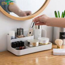 Plastic cosmetics storage box compartment cosmetic storage box office desktop