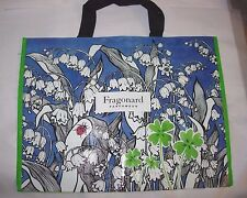 WOMENS NEW FRAGONARD PERFUME LARGE TRAVEL BAG PURSE BEACH SHOPPING TOTE 18X14