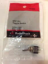 SPDT Mini Toggle Switch #275-0635 By RadioShack