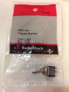 SPDT Mini Toggle Switch #275-0635 By RadioShack
