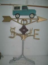 Cast Iron Landrover Weather Vane Ridge Mount