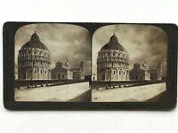 Pisa Italia Fotografia Stereo Vintage Analogica