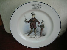 ROYAL DOULTON HOTEL PORCELAIN PLATE - CHARLES DICKENS DAVID COPPERFIELD