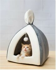 Cute Cat Kitten House Bed for Small Dogs Puppy Warm Pet Nest Cave Rabbit Ears