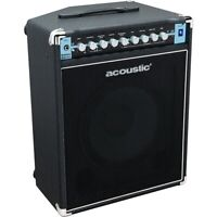 Acoustic B100C 1X12 100W Bass Combo with Tilt-Back Cab Black