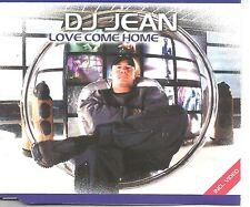 DJ JEAN Love Come home 5TRX w/ 4 MIXES & VIDEO EUROPE CD Single SEALED USA seler