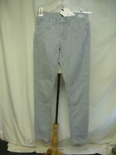 Ladies Jeans Kate Moss for Topshop light grey UK 10, US 6, stretch slim fit 1326