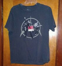 U2 360 Degree Tour Gray Tour T Shirt Large Nono The Edge