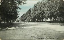 c1910 Printed Postcard; Mill Street, N. Manchester IN Wabash County Posted