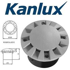 Kanlux ROGER DL-LED12 LED In Ground Recessed Footpath Drive Over Light Fitting
