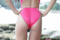 "NEW Speedo Pink Aquablade Swimsuit UK/US 30"" High Leg Badeanzug D34 Hydrasuit?"