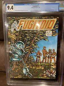 Fugitoid #1 CGC 9.4 (Teenage Mutant Ninja Turtles!)