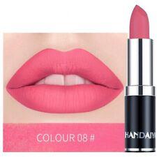 Sexy Pink Makeup Waterproof Women Lipstick Cosmetics Lip Stick Matte Makeup Long