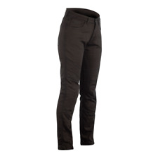 RST REINFORCED STRAIGHT LEG CE SHORT LEG LADIES TEXTILE MOTORCYCLE JEAN BLACK 08