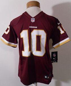 NWT Washington Redskins Robert Griffin III Youth Limited Jersey M Burgundy $100
