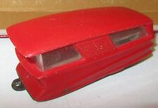 Politoys Roulotte Rossa Plastica PLA 1/43
