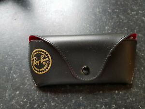 Ray-Ban Black faux leather Spectacles case