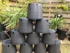 Heavy Duty 10 Litre Plant Pots / Container Pots x10