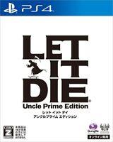 "Prime Edition PS4 Game LET IT DIE Uncle  CERO rating ""Z""/ Import Japan"