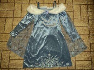 Disney Olaf's Frozen Adventure Elsa Deluxe Musical Dress. Sz. 4-6. Pretty!
