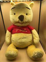 Winnie The Pooh Bear 80 Years Plush Kids Stuffed Toy Doll Disney Fisher Price