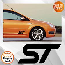 FORD ST FOCUS FIESTA Mondeo DOOR Bumper Vinyl Decal car Stickers x2 8 INCHES