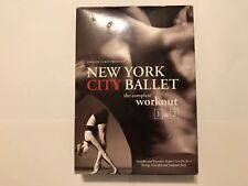 New York City Ballet: The Complete Workout 1 & 2 (DVD, 2006, 2-Disc Set)