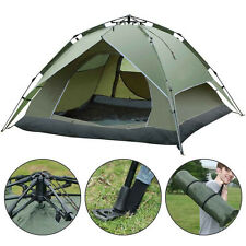 3-4 Person Waterproof Camping Tent Double Layer Family Hiking Automatic Instant