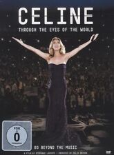 """CELINE DION """"through the Eyes of the wolrd"""" DVD NEUF"""