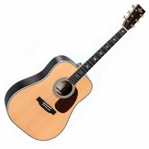 Sigma DT-41 Dreadnought Acoustic Guitar - Natural