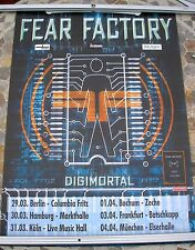 FEAR FACTORY 2001 Digimortal tour poster 34 x 23  original