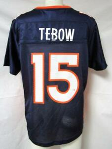 Denver Broncos Womens Size Large Tim Tebow #15 Jersey A1 1314