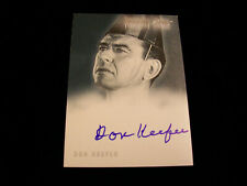 Twilight Zone Autograph Card - A-28 Don Keefer in It's A Good Life